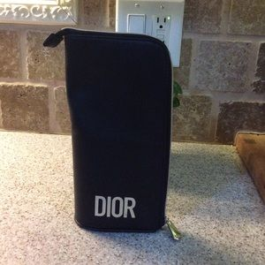 Dior makeup brush pouch